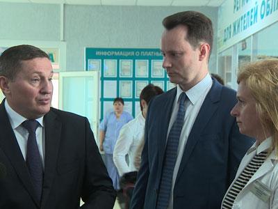 На базе Волгоградского областного онкологического диспансера будет создан уникальный медицинский центр