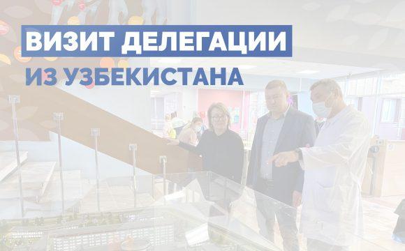 Визит делегации из Узбекистана